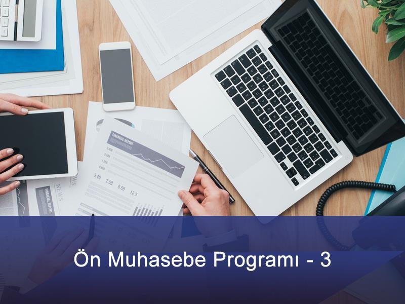 Ön Muhasebe Programı - 3